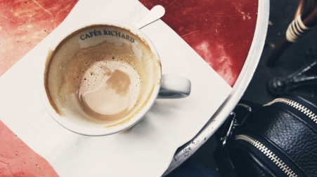 first coffee in paris