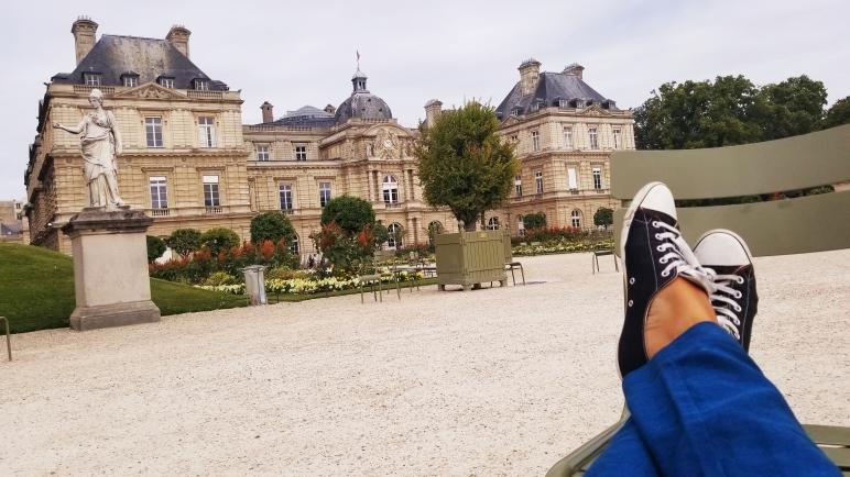 Chillin' - looking at my palace