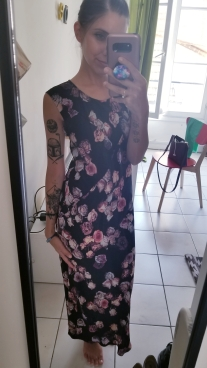 #OOTD - This floral print is to die for! But bees loved it...