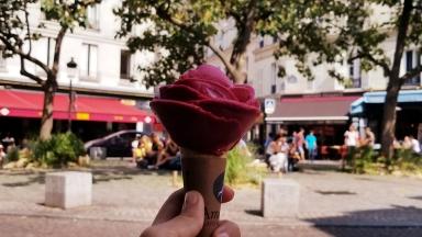Delicious ice cream right near E.H. apt.