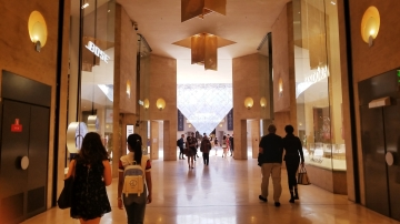 The Louvre Shopping Area