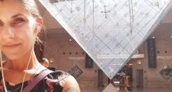 Below the pyramid...