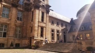 My neighbourhood - Historic library! And they said I'm allowed to get a card!!!