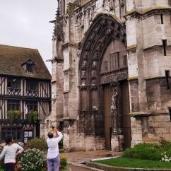 Vernon medieval church