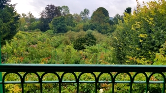 The view from Monet's bedroom window.......