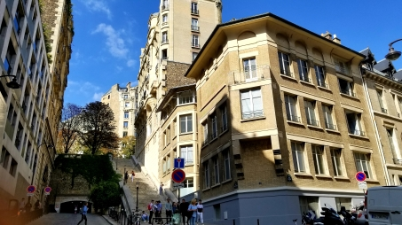 This is one campus of the International School of Paris
